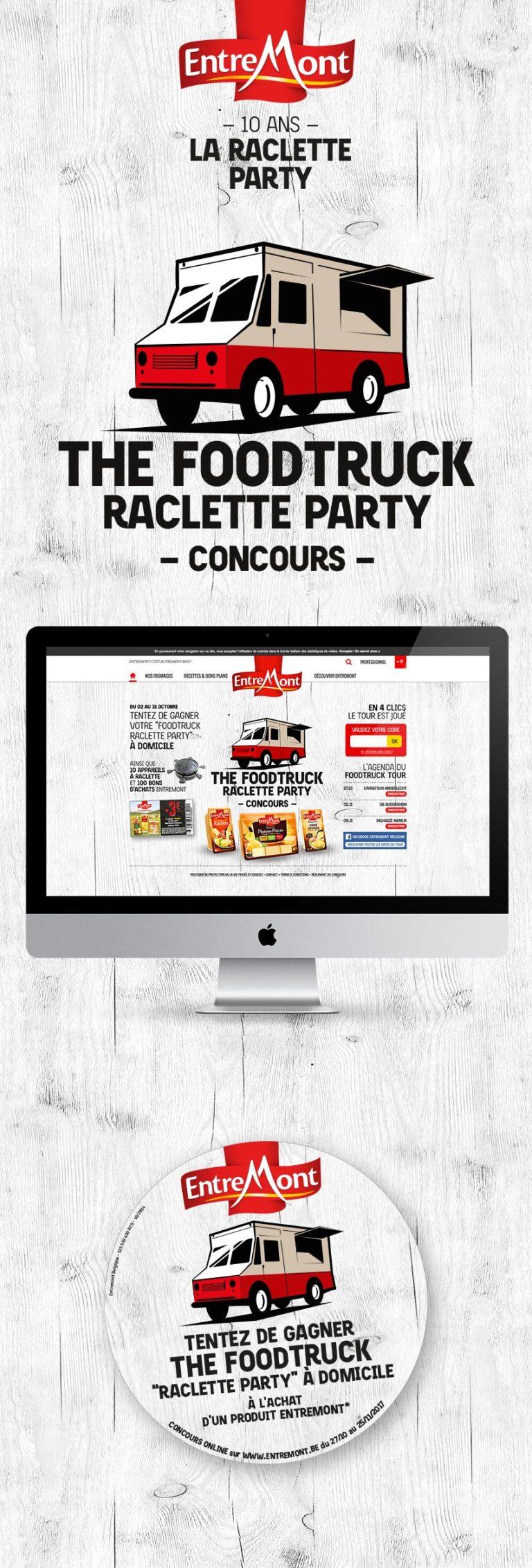 Entremont Raclette Party Campaign 2017
