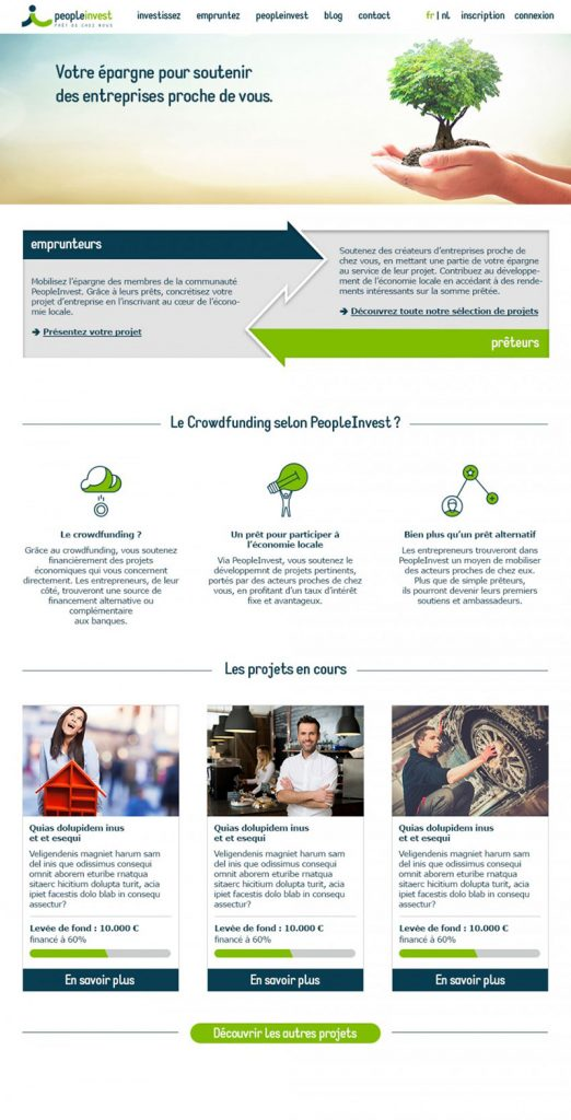 PeopleInvest Website