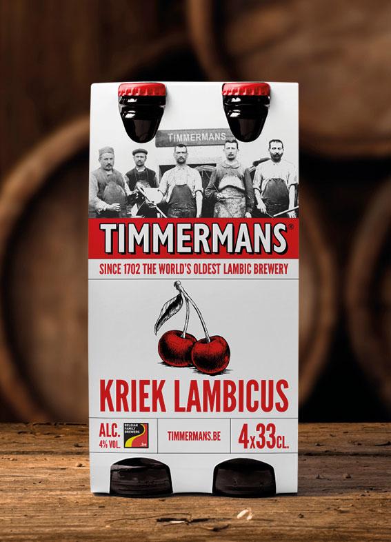 Timmermans Relooking de la gamme